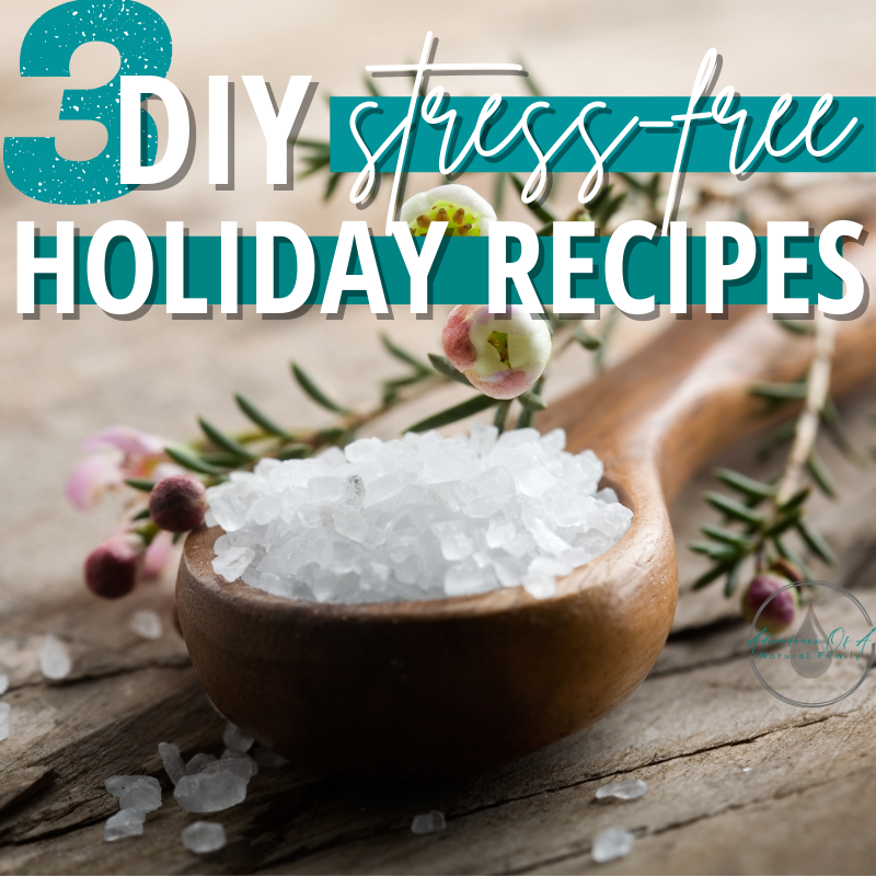 3 DIY Stress-Free Holiday Recipes