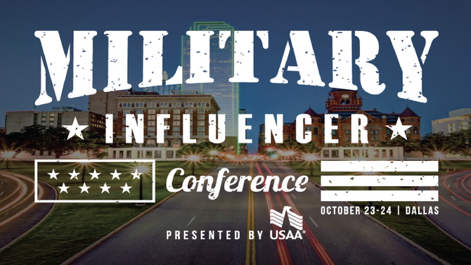 What Did I Get Myself Into? Military Influencer Conference