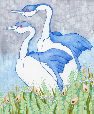 """""""Large Grebes"""""""
