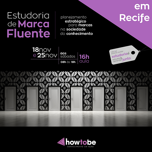 Estudoria de Marca Fluente | 16h | Em Recife