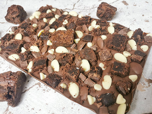 THE CHOCOLATE BROWNIE LOADED SLAB