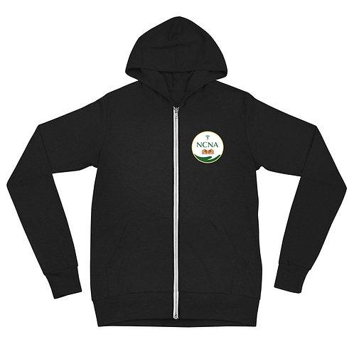 NCNA Logo Unisex zip hoodie