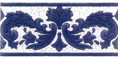 Acantus Azul 20x40