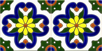 Flor Espaniola Celeste medidas 10.15y20.