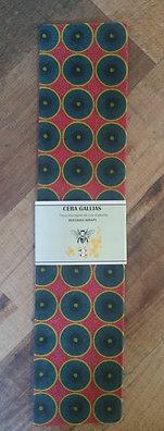 Beeswax Wrap rectangle gm Batik Rose