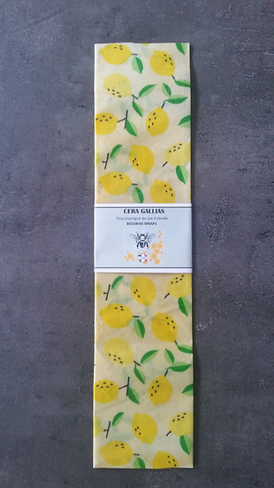 Beeswax Wrap rectangle gm Citron