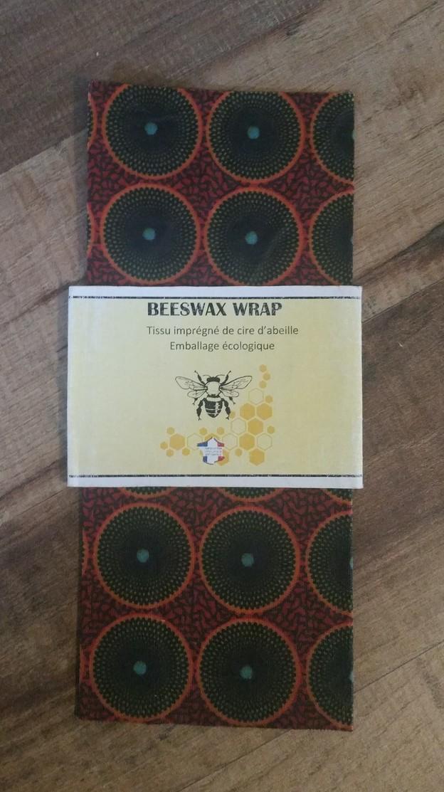 Beeswax_Wrap_carré_Batik_Brique