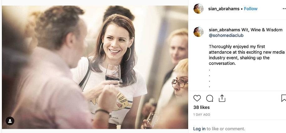 "Sian_Abrahams_on_Instagram__""Wit__Wine__"