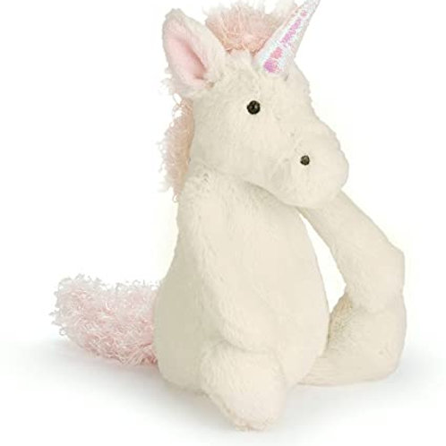 Jellycat Bashful Unicorn-Small