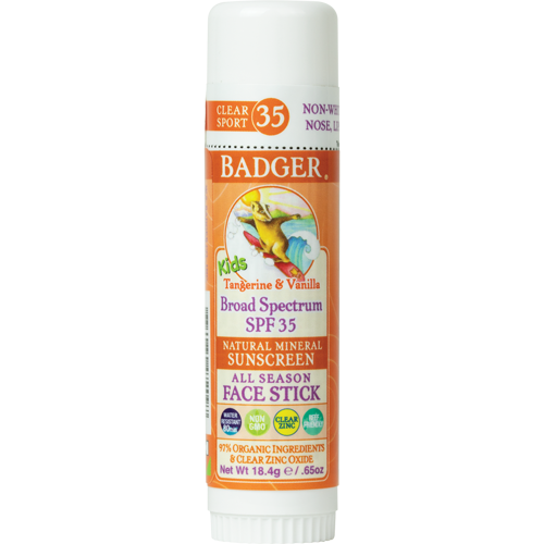 badger sunscreen stick
