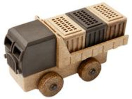 Luke's Toy Factory Natural Cargo Truck