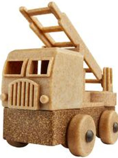 Luke's Toy Factory Natural Fire Truck