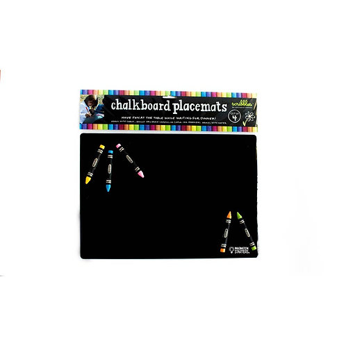 Imagination Starters Chalkboard Placemat set of 4