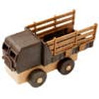 Luke's Toy Factory Natural Stake Truck
