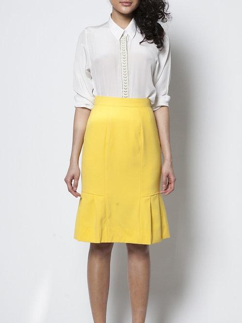 Sunny Side Pleated Skirt