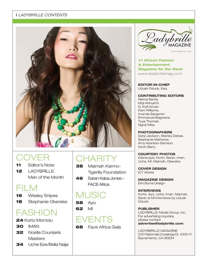 Lady Brille Magazine