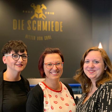 Business Frauen Lausitz, Janine Wirtz, Mareen Rüegg & Julia Müller