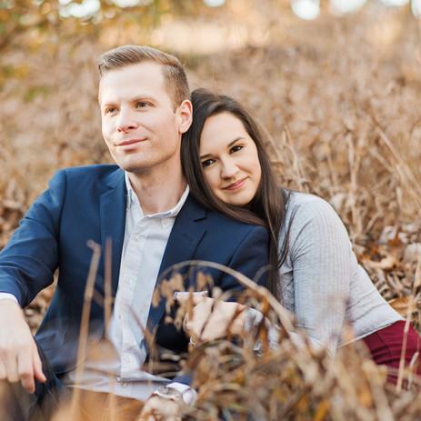 Jordan and Derek | South Carolina Botanical Gardens | Engagement