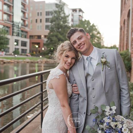 Suratt Wedding   September 2020   Greenville, SC   Larkins on the River