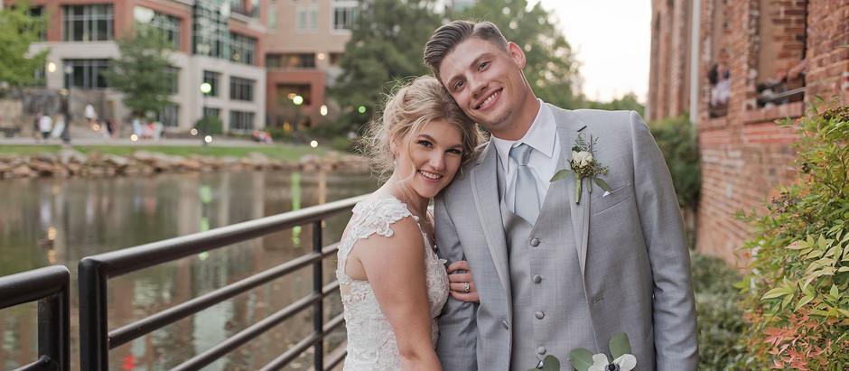 Suratt Wedding | September 2020 | Greenville, SC | Larkins on the River