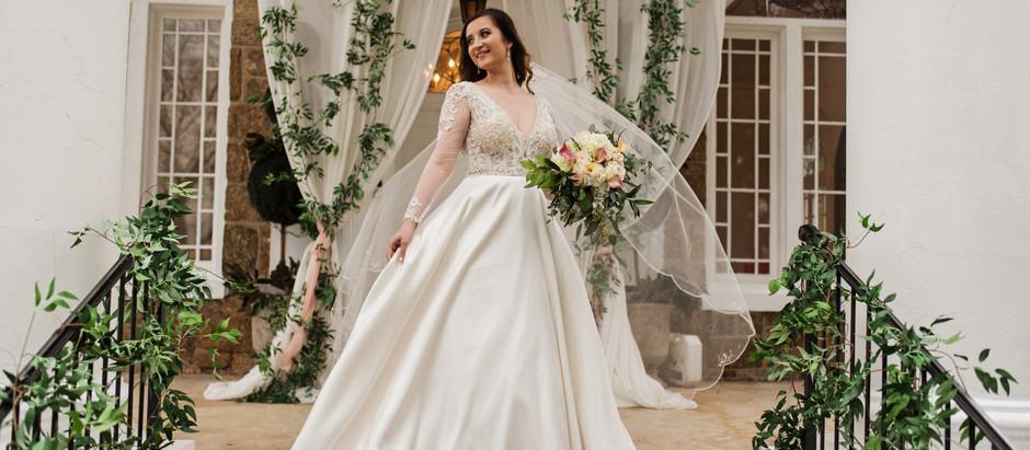 Kayla Coffman | Bridal Portraits | Gassaway Mansion | Greenville, SC