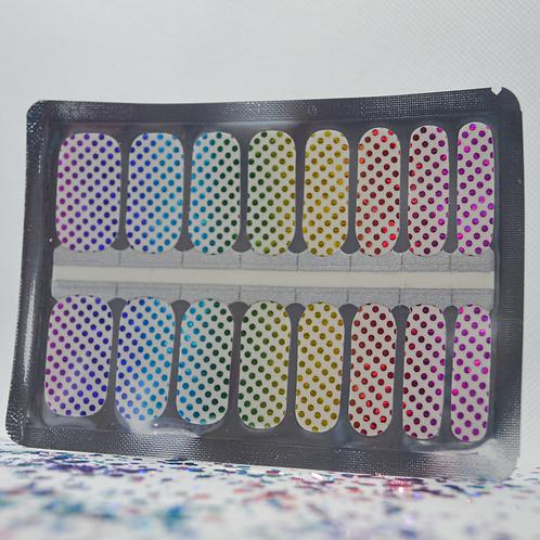 Rainbow Dots (Transparent)