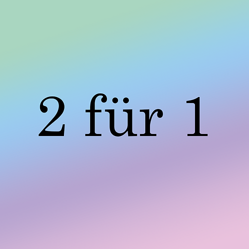 2 Für 1€