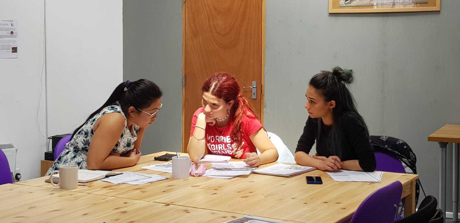 Hunter Language Students