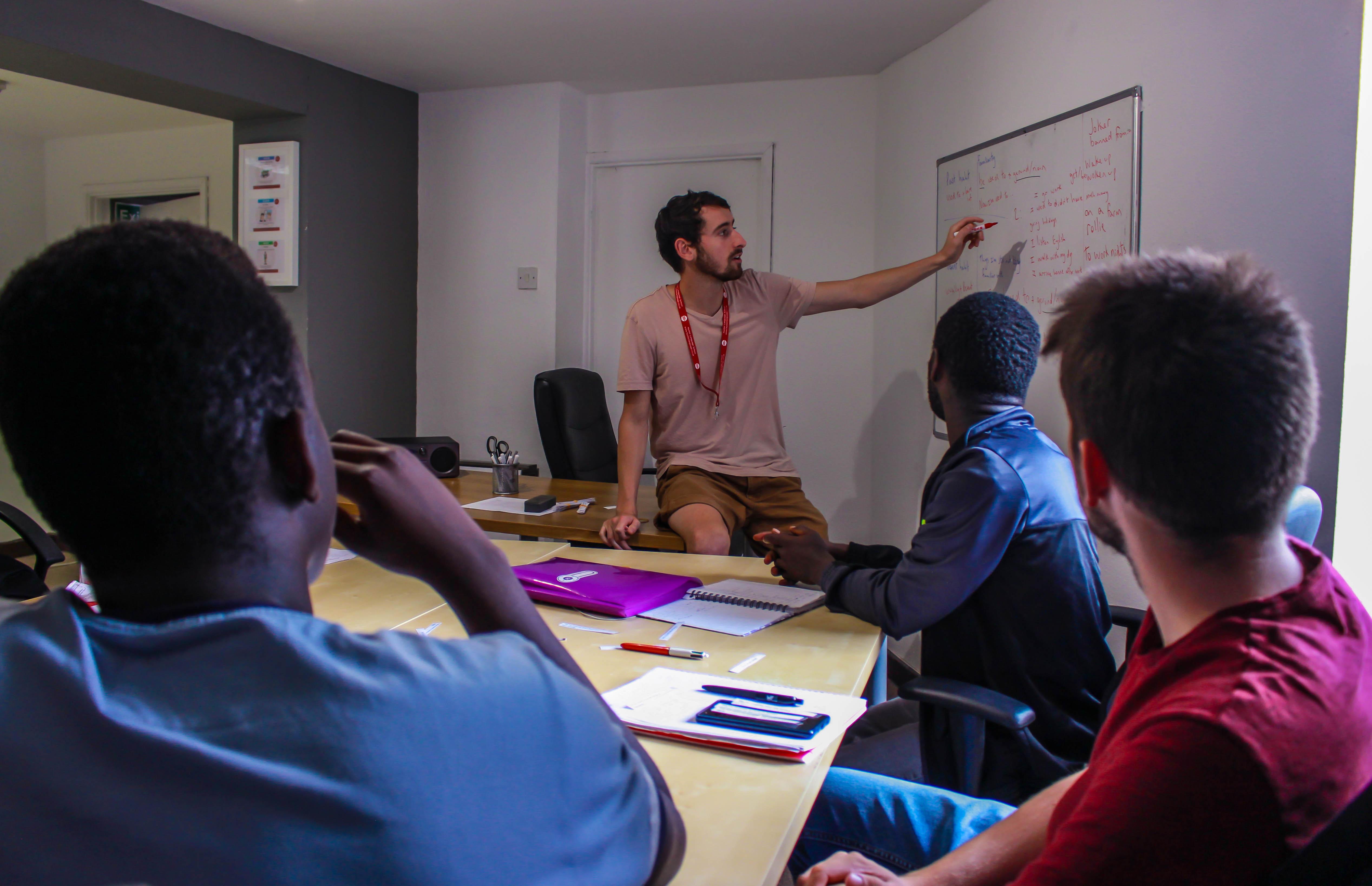 Small groups, dedicated teachers