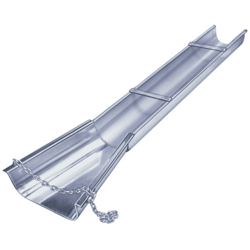 20' Aluminum Concrete Chute with Flare