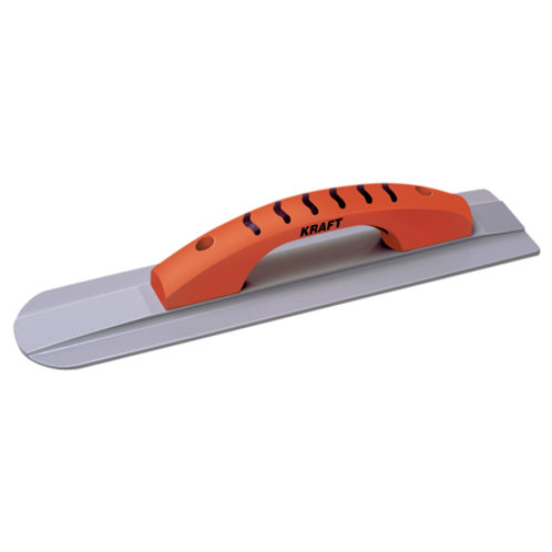 """16"""" x 3-1/4"""" Round Front/Square Back Magnesium Hand Float with ProForm® Handle"""