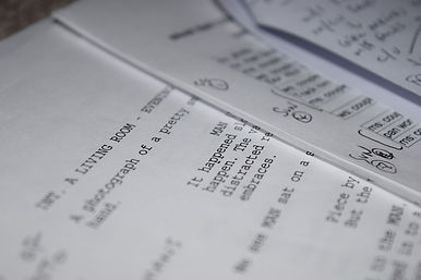 screenplay page