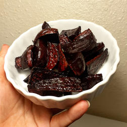 Pan Roasted Beets