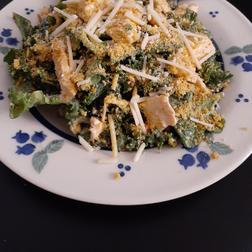 Kale Caesar Chicken Salad