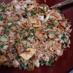 Pac Choi Fried Rice