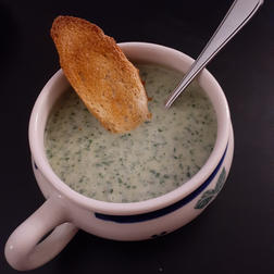 Chard-Cheddar Soup