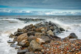 Skinningrove Sea Defences