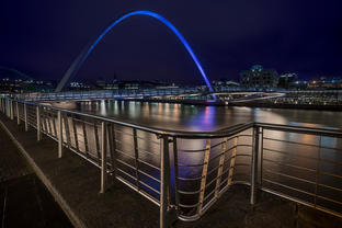Millennium Bridge and the Tyne