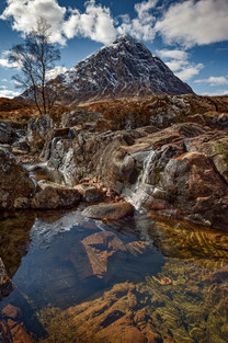 Cool Water at Buachaille Etive Mor