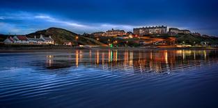 Saltburn Reflections Twilight