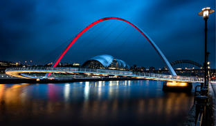 Gateshead Sage and Millennium Bridge