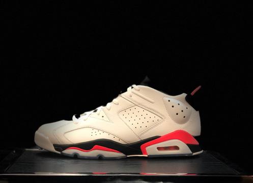 "outlet store 4c3cc 6eec4 Air Jordan 6 Retro Low ""Infrared White"""