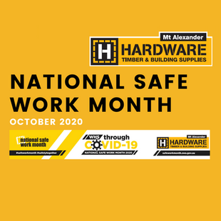 National Safe Work Month - October 2020