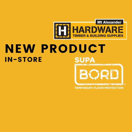 SupaBord Heavy Duty - NEW PRODUCT IN-STORE