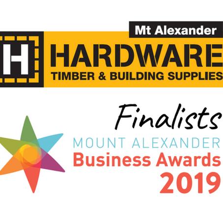 2019 Finalist - Mt Alexander Business Awards