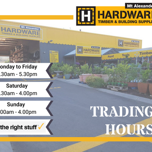 2020 Trading Hours