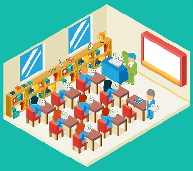画面配信 ・画面描画 ・チャット ・ドキュメント共有 ・ファイル転送と収集・授業に集中 ・自画面をみんなと共有 ・積極的に発表・PCもタブレットも利用できる ・有線でも無線でも快適