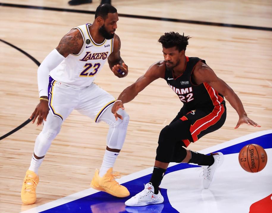 Heat hoàn toàn bất lực trước Lakers tại game 7  VUA-THE-THAO