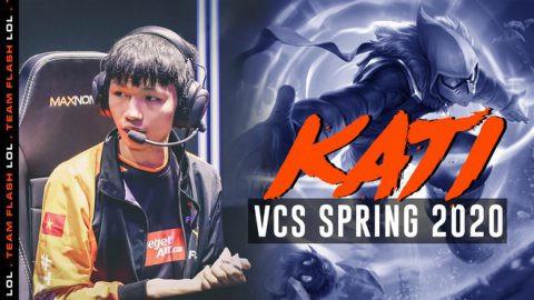 Kati trở thành tuyển thủ trẻ xuất sắc VCS Mùa Xuân 2020  VUA-THE-THAO