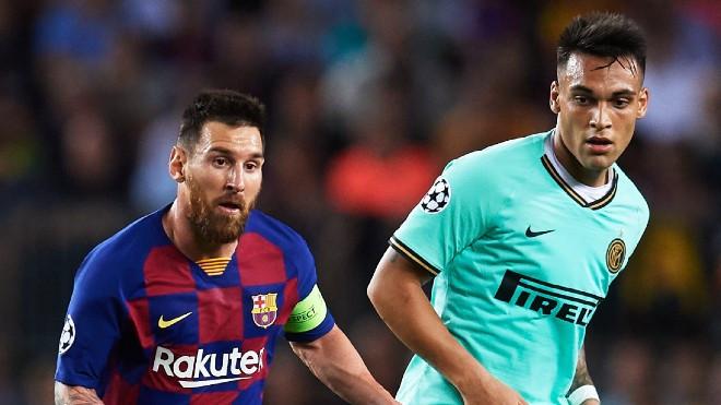 Barcelona muốn Martinez đá cặp với Messi |JP88